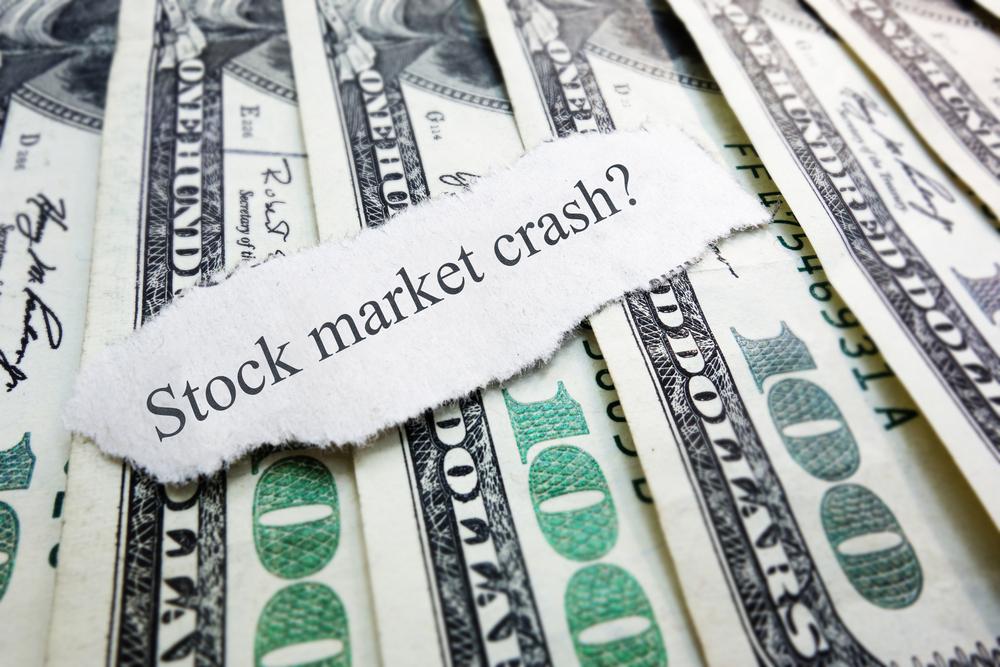 Image for stock market crash