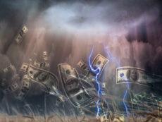 The Leading Edge of the Dollar Hurricane