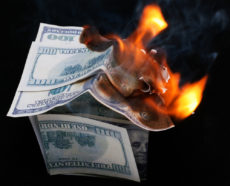 Inflation Blowing Up the Dollar