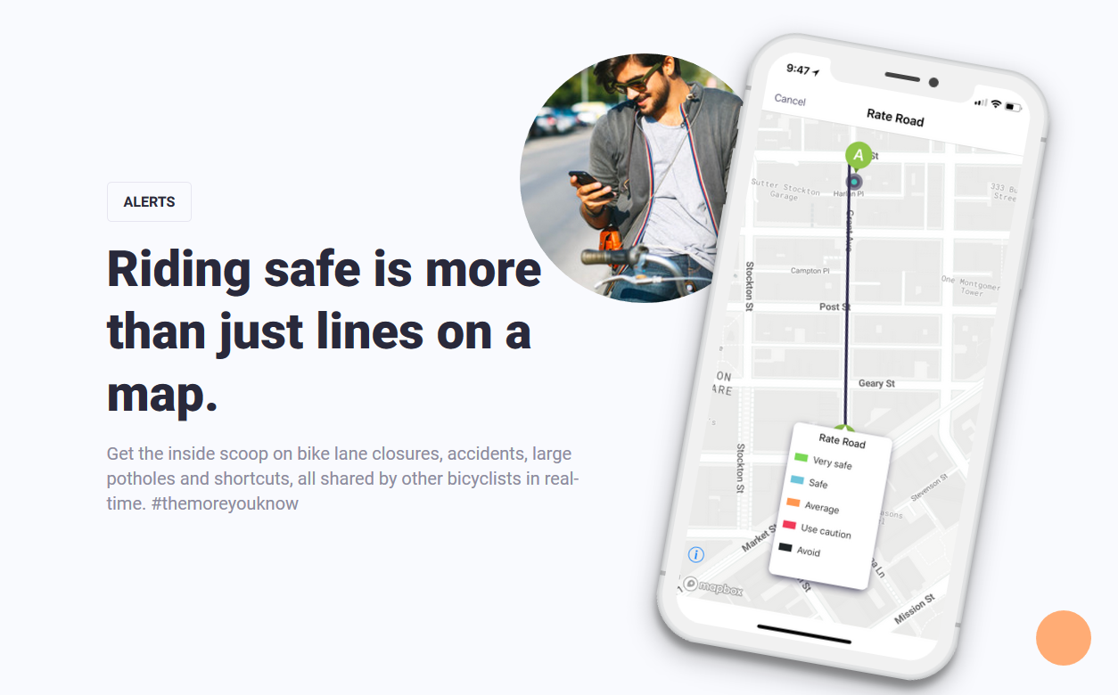 Lanespotter Ride Safe App