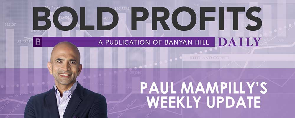 Paul Mampilly, Ian Dyer and Amber Lancaster discuss the recent market moves on a weekly basis and forecast what's coming next.