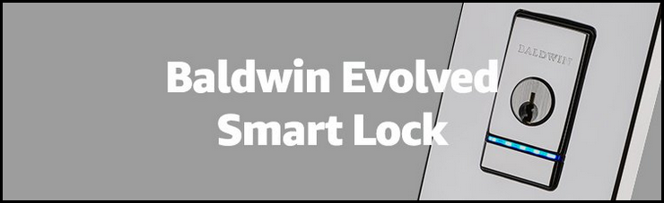 Baldwin Evolved Smart Lock