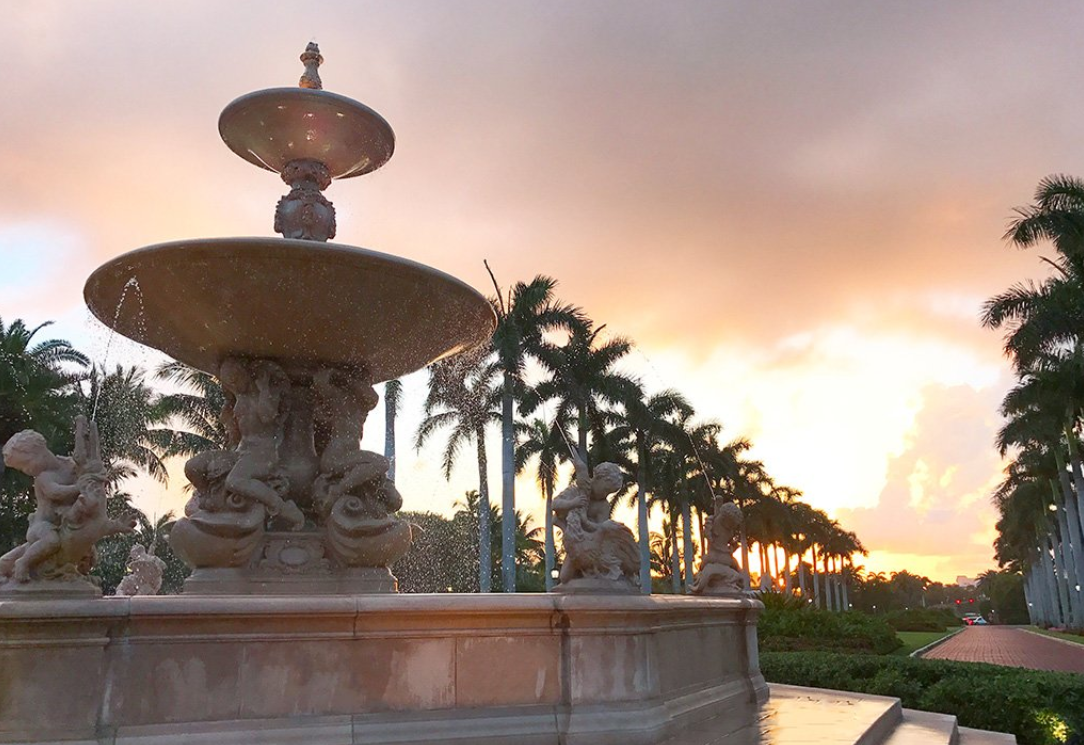 The Breakers Fountain West Palm Beach