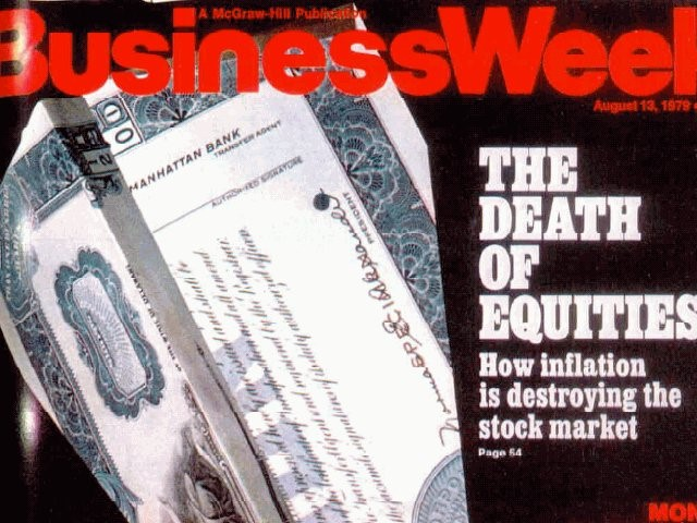 Business Week 1979 Death Equities
