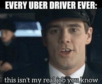Uber gross bookings meme