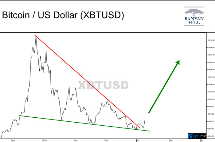 Bitcoin / US Dollar