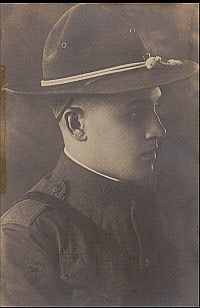 "The author's grandfather, J. Carl Bauman, 29th Division, 15th Infantry Regiment – a.k.a. the ""Blue and Gray"""