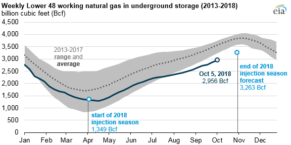 With fall in the air, hedge funds have winter on their minds. Low natural gas stores are shaping up to be one of their biggest holiday bets.