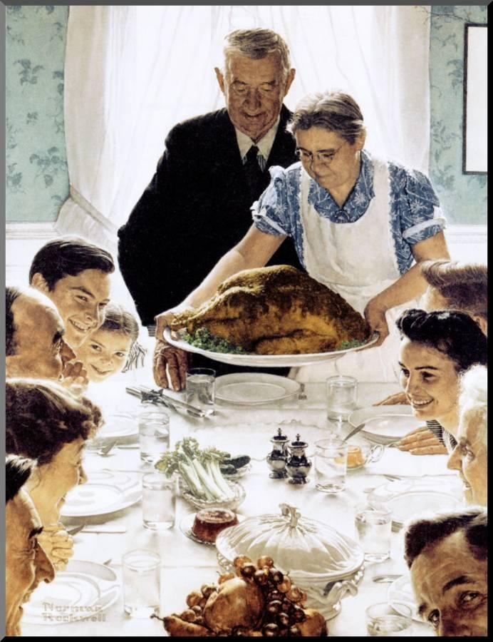 Thanksgiving always has been a day to pause and consider our blessings as Americans, to consider what unites us, not to dwell on what divides us.