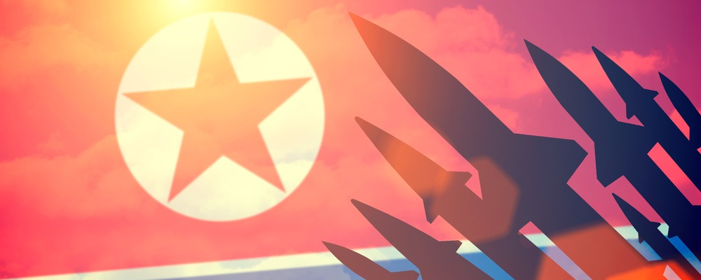 In recent weeks, North Korea demonstrated new weapon capabilities. And right now, there is no way to forecast how this situation is resolved.