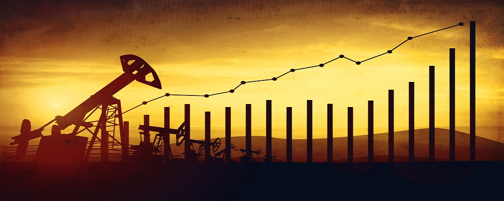 petroleum production rising