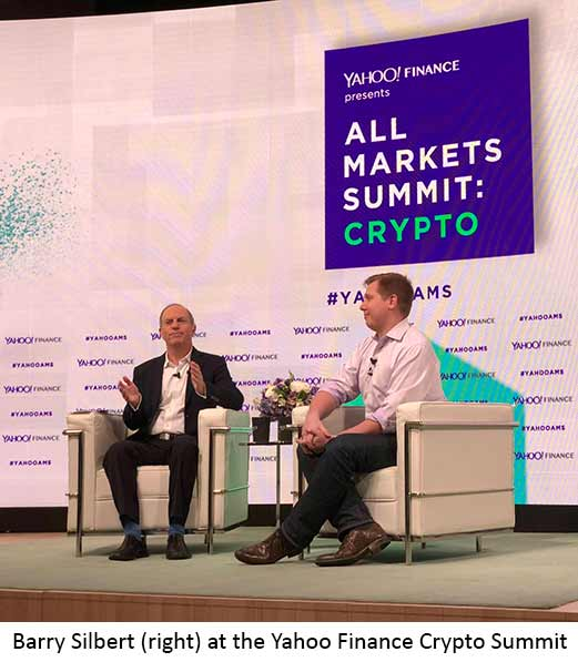 If I've learned anything in the past five years, it's to listen to Barry Silbert, an investor in cryptos whose net worth is estimated between $400 million to $500 million.