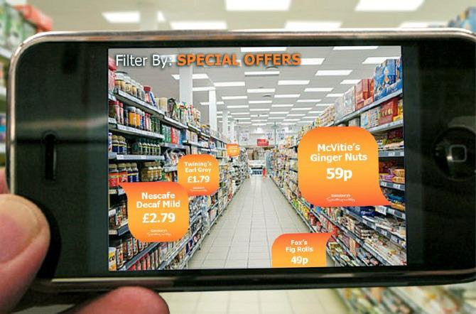 Augmented reality uses your phone's screen to make images appear in real life. And some companies are using it to do some very practical and helpful things.